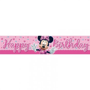 Minnie Mouse Giant Plastic Banner.jpg