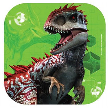 Jurassic World Square Paper Luncheon Plates Pack of 8.jpg