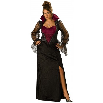 Midnight Vampiress Adult Plus Women's Costume.jpg