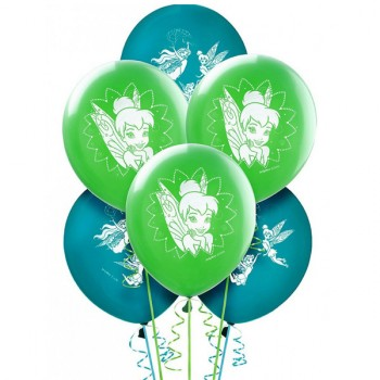 Tinker Bell Disney Fairies Best Friends Latex Balloons Pack of 6.jpg