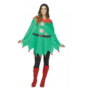 Elf Poncho Adult Costume Accessory Kit.jpg  sc 1 th 225 & Elf Poncho Adult Costume Accessory Kit | Buy Online | Costumes New ...