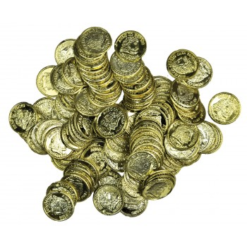 Dubloons Gold Coins Pack of 144, For Pirate Treasure.jpg