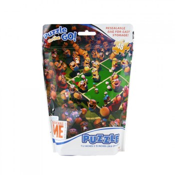 The Minions 48 Piece Puzzle on the Go Kit in Resealable Bag.jpg