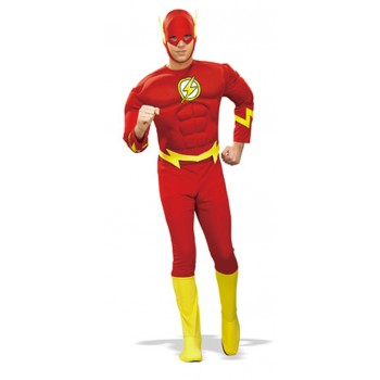 Adults The Flash Muscle Chest Fancy Dress Costume.jpg