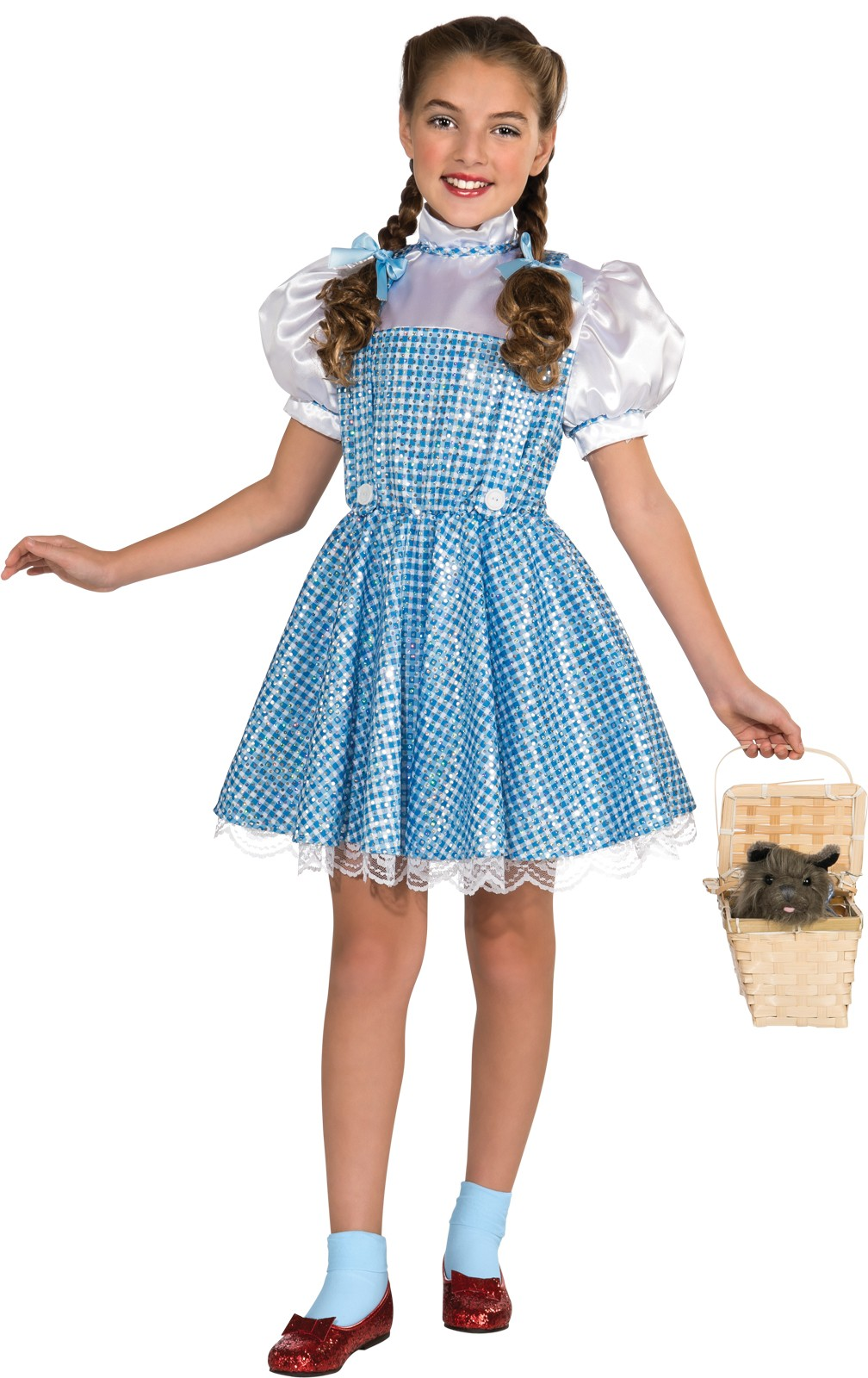 Wizard of Oz Doggie Basket Dorothy Costume Accessory