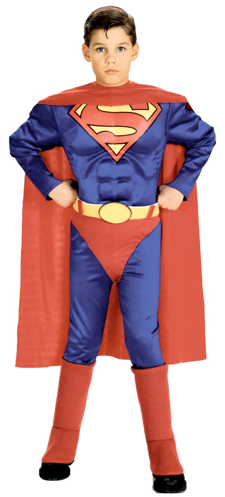 superman muscle chest toddler child costume buy online costumes new zealand. Black Bedroom Furniture Sets. Home Design Ideas