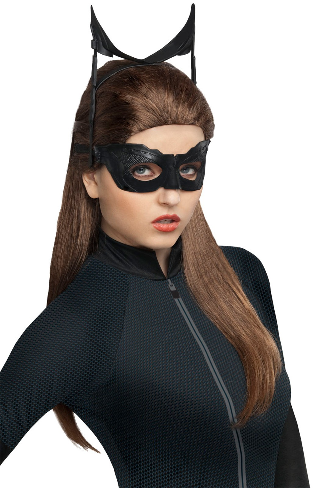 Batman The Dark Knight Rises - Catwoman Adult Womenu0027s Costume Wig.jpg  sc 1 th 276 : child deluxe catwoman costume  - Germanpascual.Com