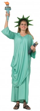 Statue of Liberty Adult Women's Costume Standard_thumb.jpg