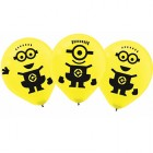 Despicable Me Minion Made 30cm Latex Balloons Pack of 6_thumb.jpg