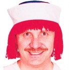 Men's Raggedy Andy Red Wig w/ Hat Dress Up Costume_thumb.jpg