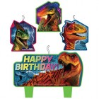 Jurassic World Happy Birthday Mini Moulded Candle Pack of 4_thumb.jpg