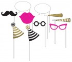 Black Gold Pink Photo Booth Props Pack of 10_thumb.jpg
