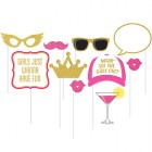Photo Booth Props Glittered Girls Night Out Pack of 10_thumb.jpg
