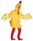 Fuzzy Chicken Adult Costume XL_thumb.jpg