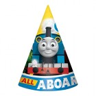 Thomas the Tank Engine All Aboard Cardboard Cone Hats Pack of 8_thumb.jpg