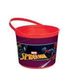 Spider-Man Webbed Plastic Favor Container_thumb.jpg