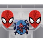 Spider-Man Webbed Honeycomb Decorations Pack of 3_thumb.jpg