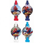 Spider-Man Webbed Blowouts With Medallions Pack of 8_thumb.jpg