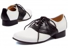 Saddle (Black/White) Adult Shoes_thumb.jpg