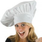Adult Chef Hat Dress Up Costume Accessory White _thumb.jpg