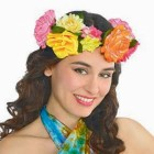 Festival Deluxe Flower Crown Headwreath Adult Costume Accessory_thumb.jpg