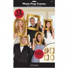 Gold Cardboard Frames Photo Booth Props Pack of 12_thumb.jpg