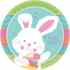 Hippity Hop Happy Easter 23cm Round Paper Plates Pack of 8_thumb.jpg