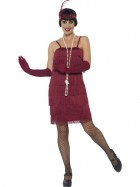 Burgundy Red Short Flapper Adult Costume_thumb.jpg