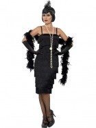 Long Black Flapper Adult Plus Costume_thumb.jpg