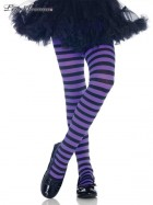 Black and Purple Striped Tights Child Costume Accessory _thumb.jpg