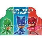PJ Masks You're Invited Invitations Pack of 8_thumb.jpg
