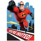 Incredibles 2 Invitations and Envelopes Pack of 8_thumb.jpg
