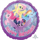 My Little Pony Friendship Adventures Happy Birthday Holographic 45cm Foil Balloon_thumb.jpg