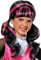 Monster High Draculaura Girl's Costume Wig (Child)_thumb.jpg