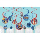 Captain Marvel Hanging Swirl Decorations Pack of 12_thumb.jpg