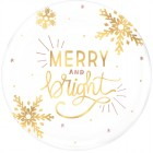 Merry and Bright Plastic Round Serving Platter_thumb.jpg