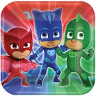 PJ Masks Square Paper Dinner Plates Pack of 8_thumb.jpg