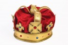 Adult Regal King Red Crown with Gold Accents Men's Royal Costume Accessory_thumb.jpg