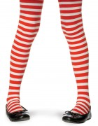 Child Christmas Theme Striped Tights Costume Accessory Red White_thumb.jpg