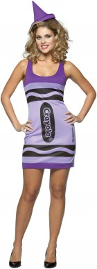 Crayola Wisteria Crayon Tank Dress Adult Women's Costume_thumb.jpg