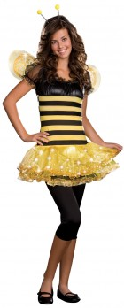 Busy Lil' Bee Light Up Teen Girl's Costume_thumb.jpg