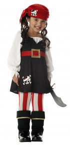 Precious Lil' Pirate Toddler / Child Girl's Costume_thumb.jpg