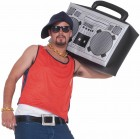 1980's Hip Hop Ghetto Blaster Inflatable Boom Box Costume Accessory_thumb.jpg