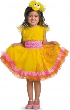 Sesame Street - Frilly Big Bird Toddler / Child Girl's Costume_thumb.jpg