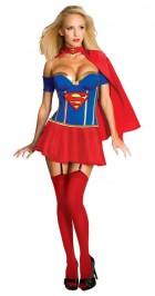 Justice League - Supergirl Corset Adult Women's Costume_thumb.jpg