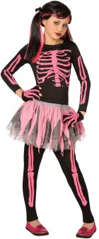 Punk Skeleton Child Girl's Costume_thumb.jpg