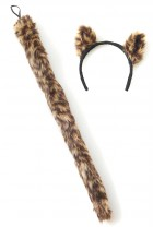 Women's Cougar Ears and Tail Animal Costume Accessory Kit_thumb.jpg