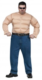 Muscle Chest Shirt Adult Costume Plus_thumb.jpg