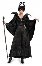 Maleficent Deluxe Christening Black Gown Adult Plus Size Women's Costume_thumb.jpg