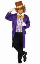 Willy Wonka & The Chocolate Factory: Willy Wonka Classic Child Costume Small_thumb.jpg